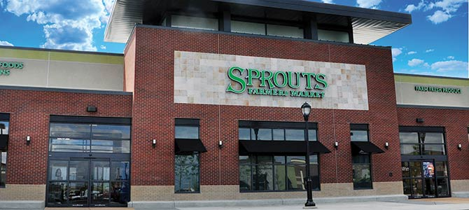 A brand new Sprouts store