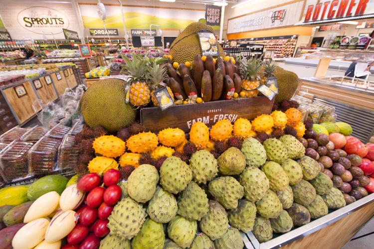 Exotic Fruit inside Sprouts