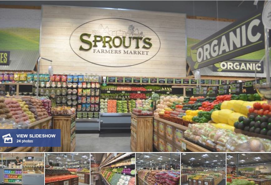 Slideshow of Sprouts store photos