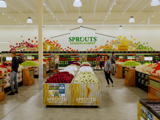 Sprouts Store Inside